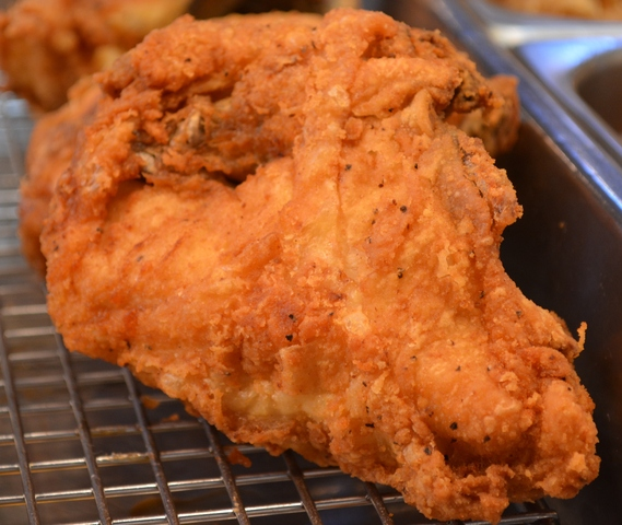Breast at Bair's Fried Chicken at Central Market