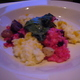 Red &amp; Yellow Beet Risotto at Ponti Seafood Grill
