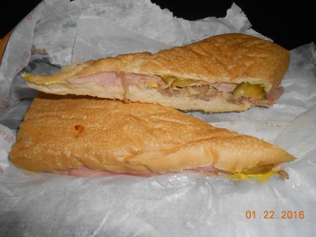 cuban sandwich at Casa Rojas Cuban Bakery and Cafe