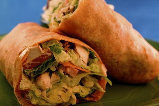 Photo of Avocado Clubhouse Wrap