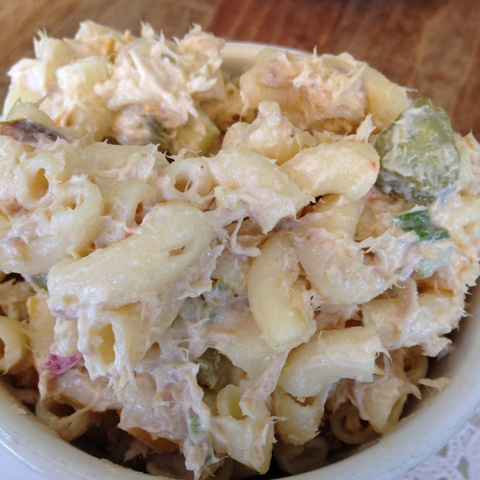 Photo of Tuna Macaroni Salad