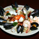 Seafood Fra Diavolo at The Old Time Vincent's Clam Bar and Italian & Seafood Restaurant