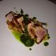 Seared tuna with edamame pesto at La Provence