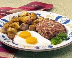 Photo of Homemade Corned Beef Hash & Eggs