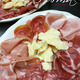 cured meats platter includes prosciutto di Parma, coppa, salame, mortadella - Salume Misto at Parma