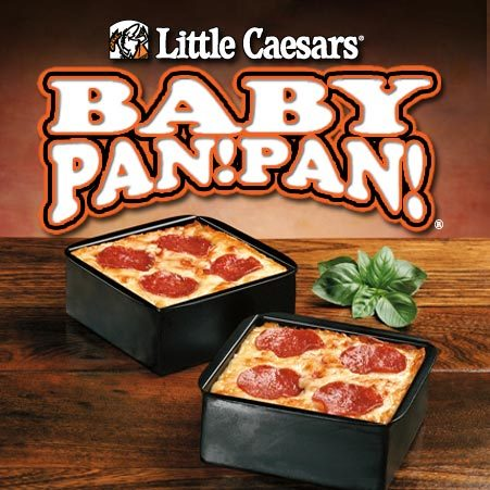 There are calories in a Baby Pan!Pan! Cheese Pizza from Little Caesars. Most of those calories come from fat (41%) and carbohydrates (42%).
