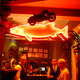 Ambient lighting and an amiable staff made our night so much fun - Interior at The Dead Fish
