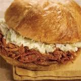Photo of BBQ Pork Sandwich with Slaw added