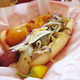 "The Market ""Cali"" Dog at The Slaw Dogs"