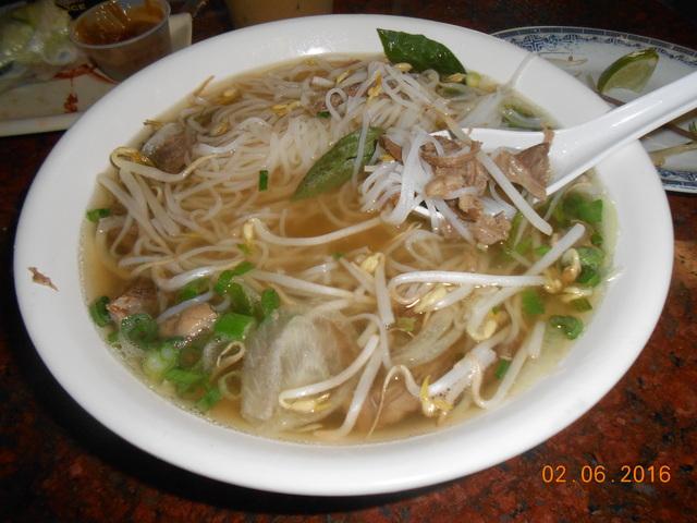 pho at Pho Vinh
