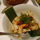 UDANG BAKAR grilled shrimps marinated in red curry and lime leaf - Risjttafels at Nonya