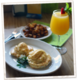 They also offer two other variations of Eggs Benedict: Crab Cakes Benedict & Eggs Benedict Arnold - Classic Eggs Benedict at Native Cafe